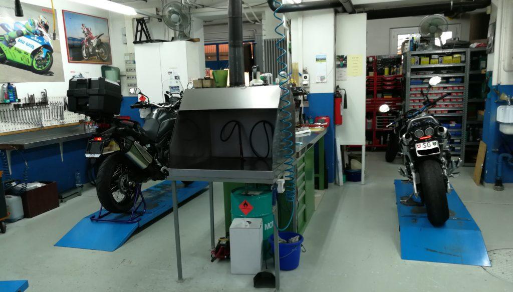 Moto Reparatur